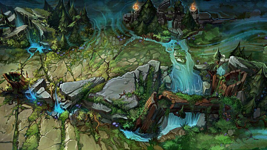 Sharp rift. (A custom summoners rift skin) | League Of Legends ...