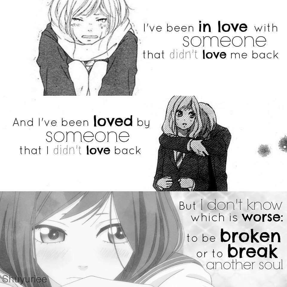 Manga Love Quotes: Quite Of The Day!