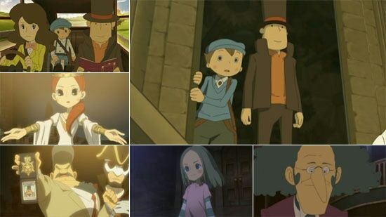 Professor Layton And The Eternal Diva Review Anime Amino
