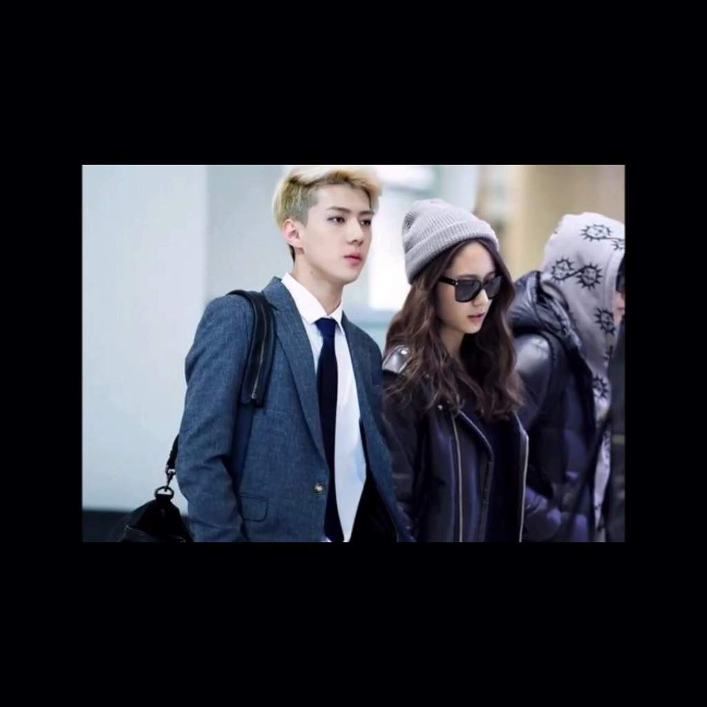 Sehun and krystal dating