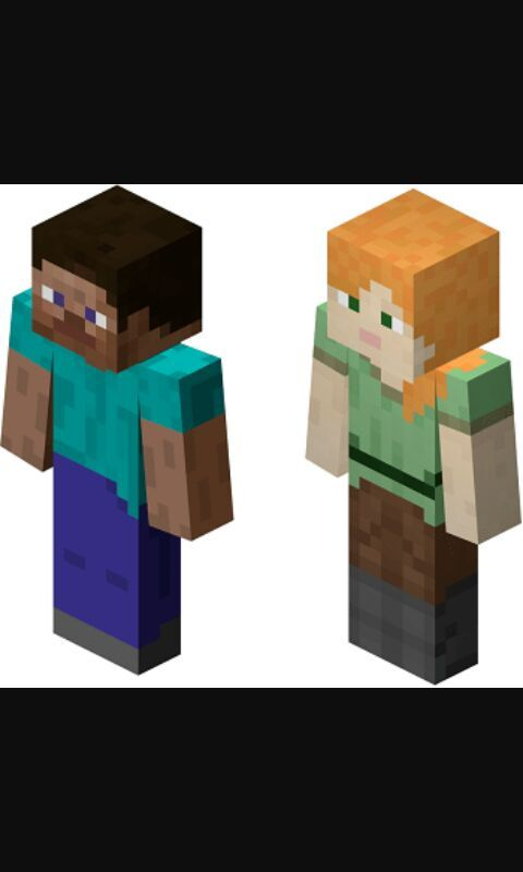 Which Skin Is Cooler Alex Or Steve Minecraft Amino