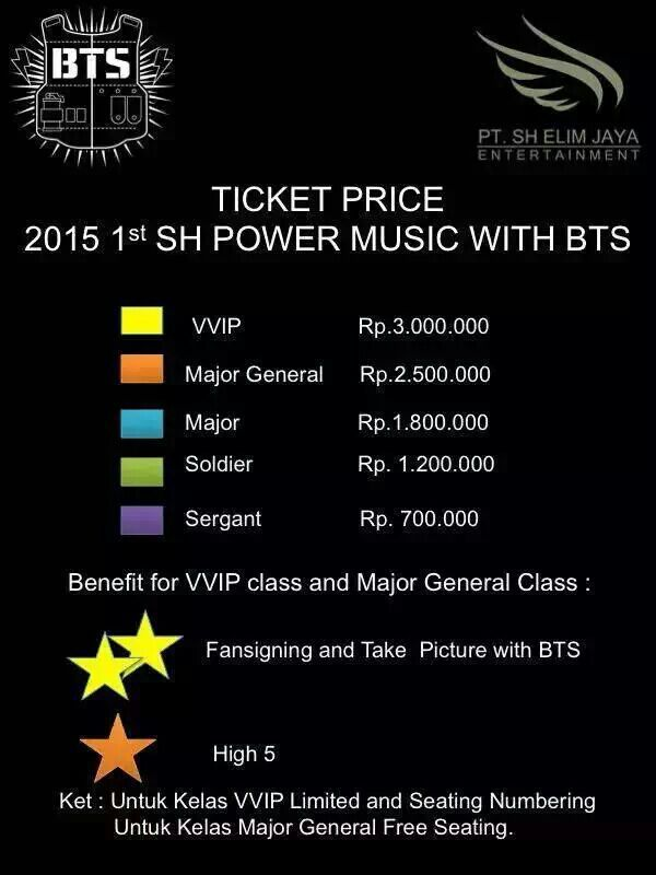 how to buy tickets for bts