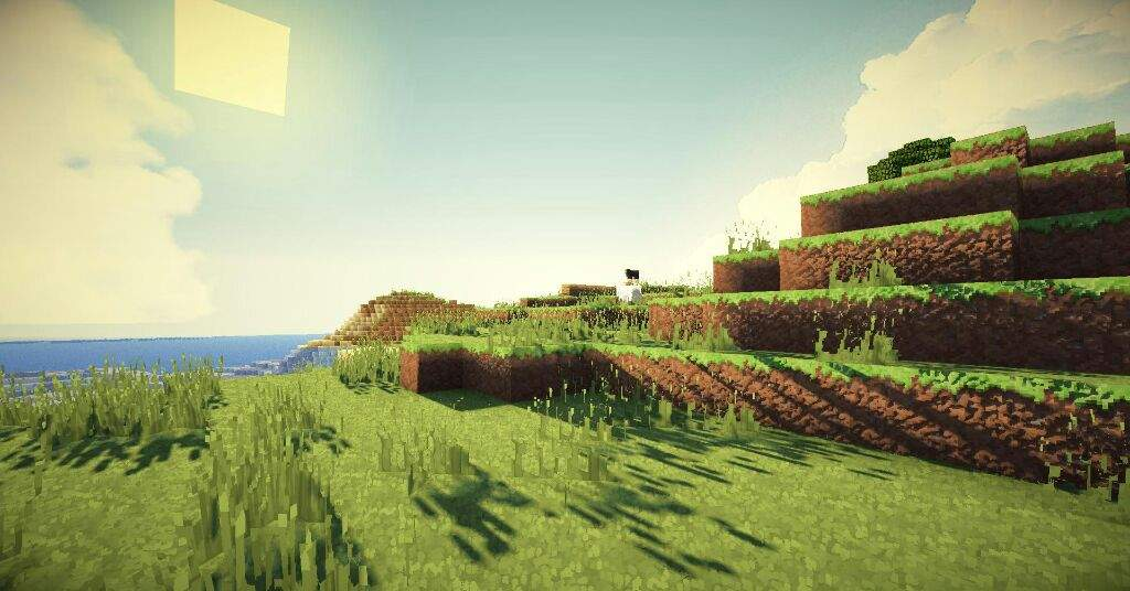 Does anyone know a really good shaders texture pack for mcpe