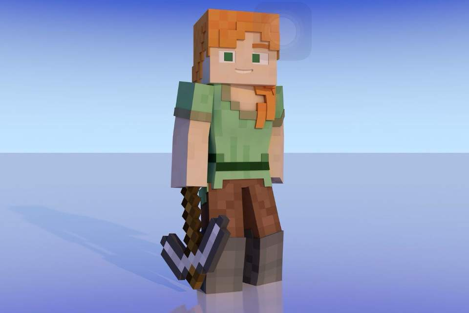 Minecraft creeper looks like