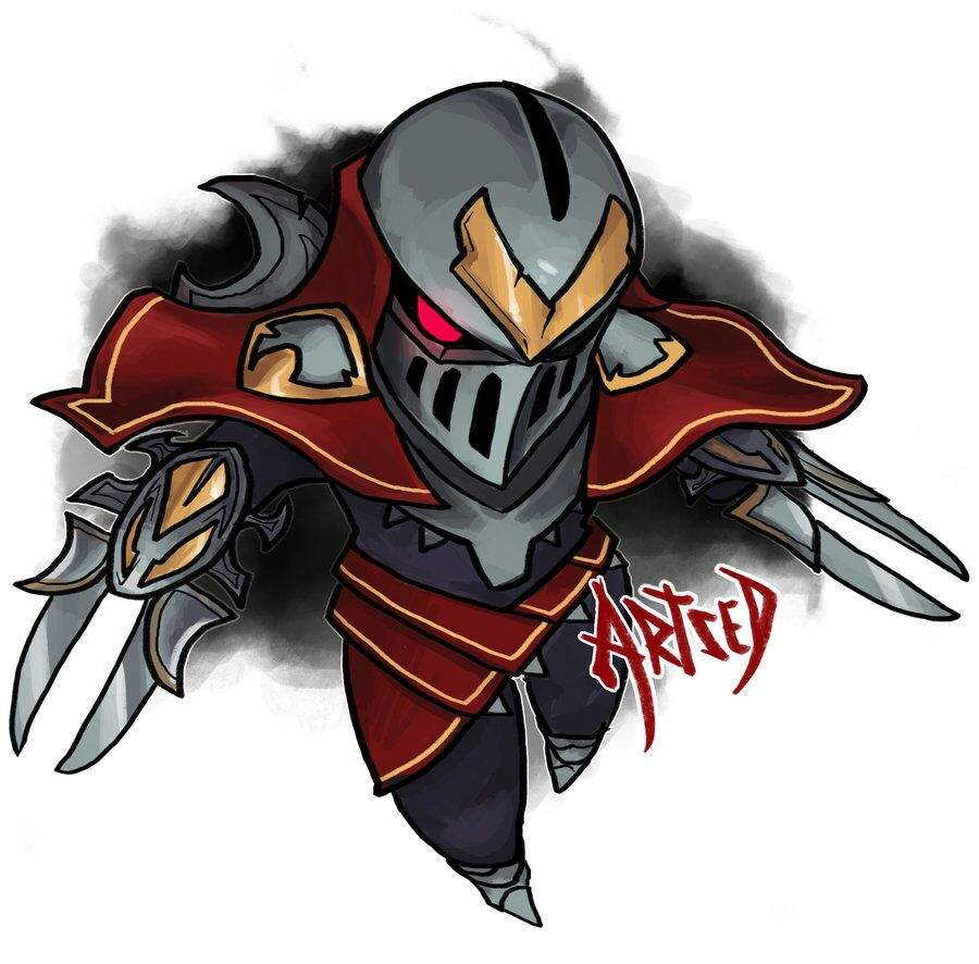 cute zed league of legends official amino