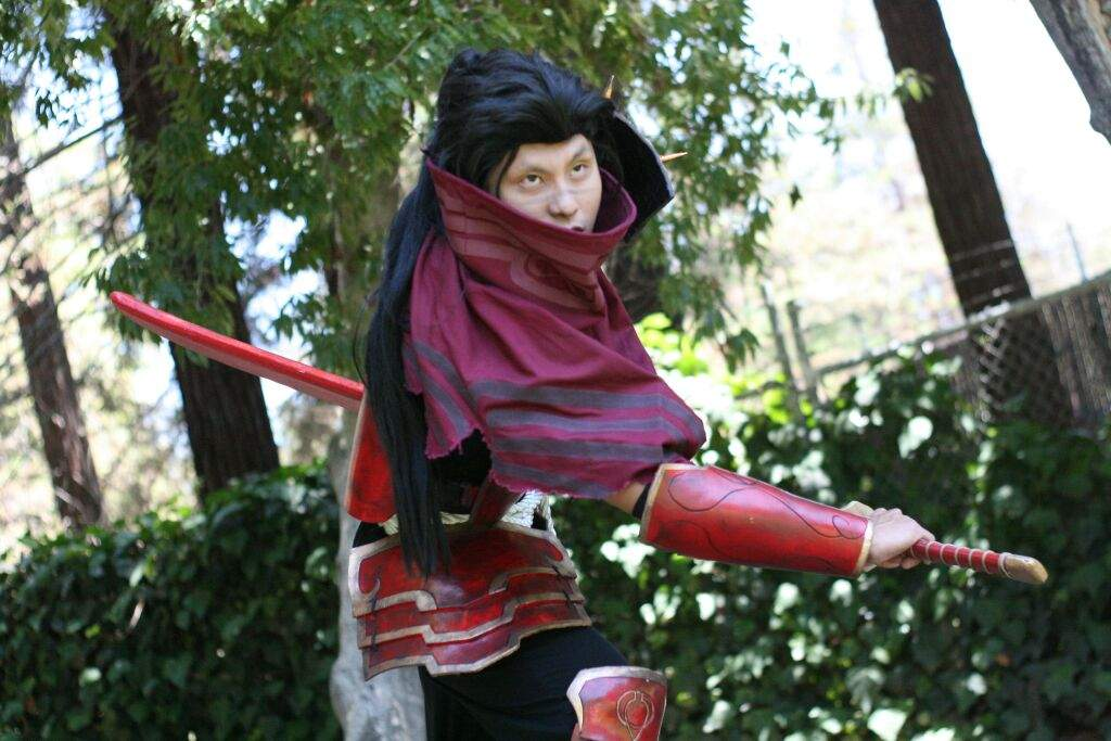 Bloodmoon Yasuo cosplay | League Of Legends Official Amino