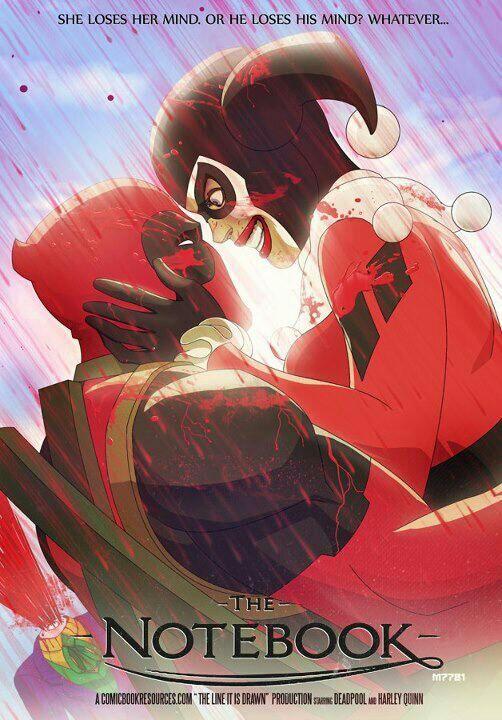 Deadpool And Harley Quinn Comics Amino