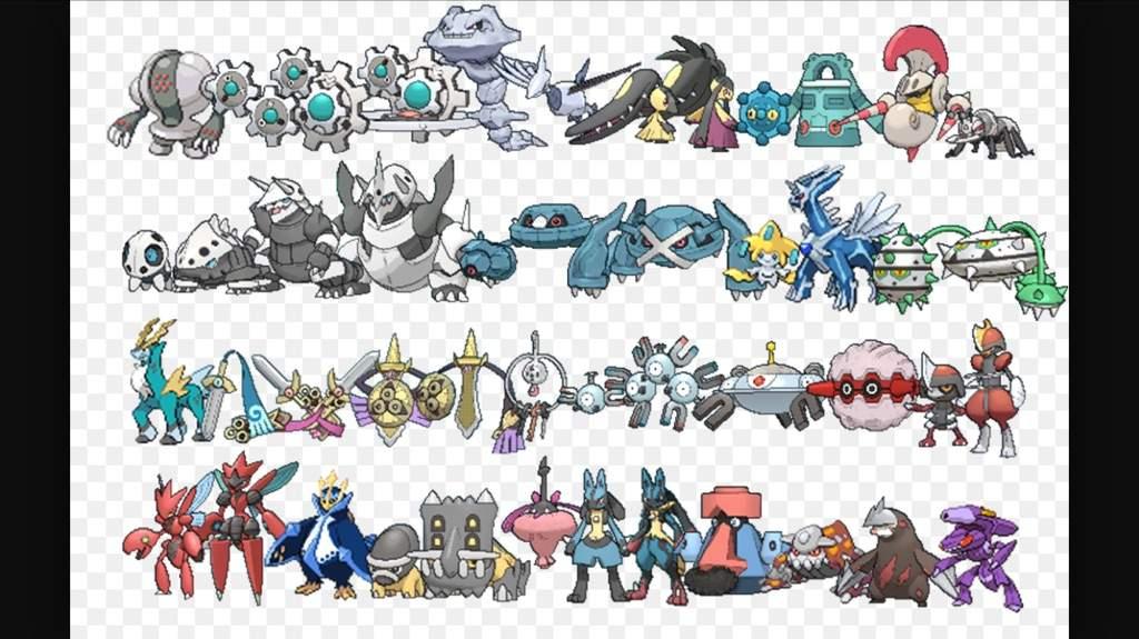 My Top 18 Pok 233 Mon Types Pok 233 Mon Amino