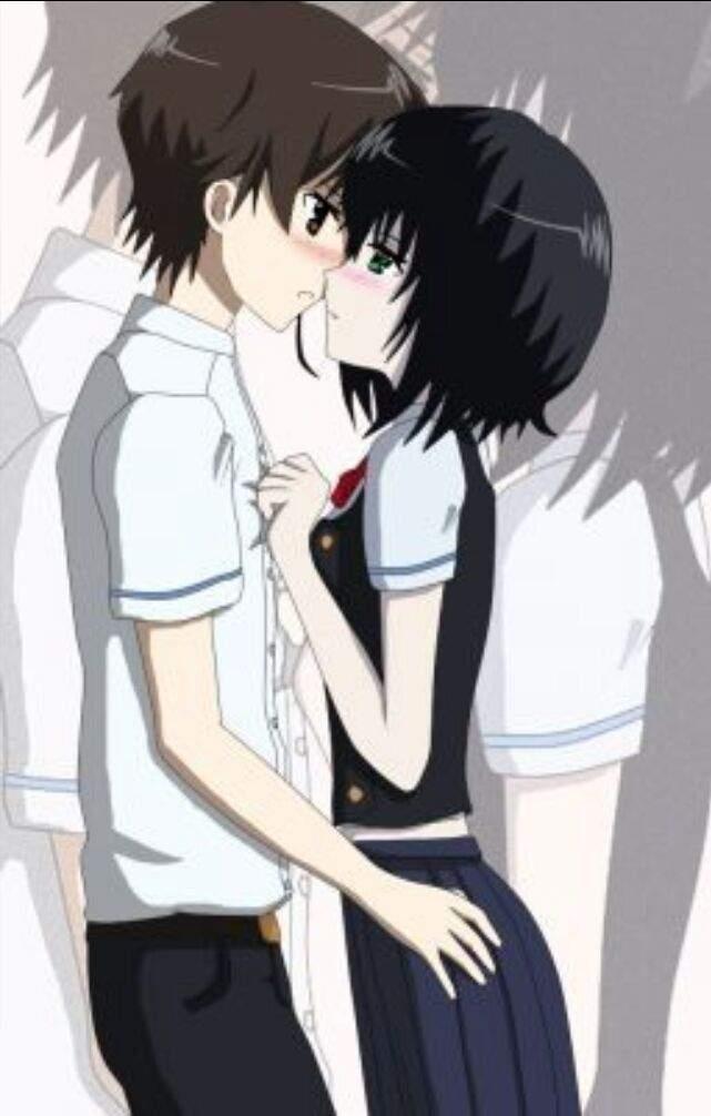 Kouichi Sakakibara ♡ Mei Misaki   Anime Amino Another Kouichi And Misaki