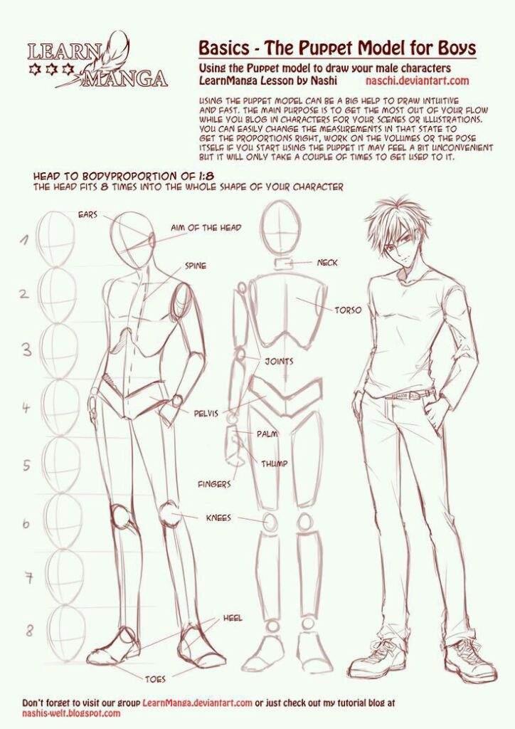 Drawing Perfect Manga Boy Anime Amino