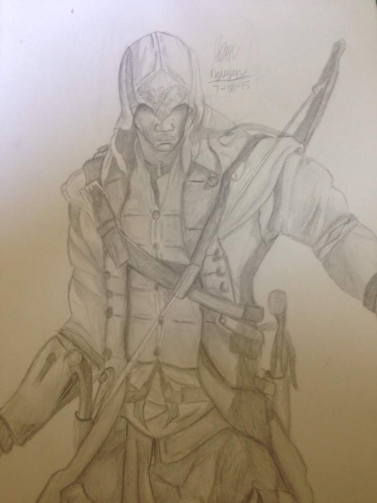 Assassins Creed 3 Drawing Anime Amino