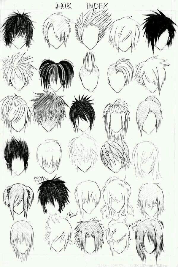 Drawing Perfect Manga Boy Anime Amino - Hairstyle boy drawing