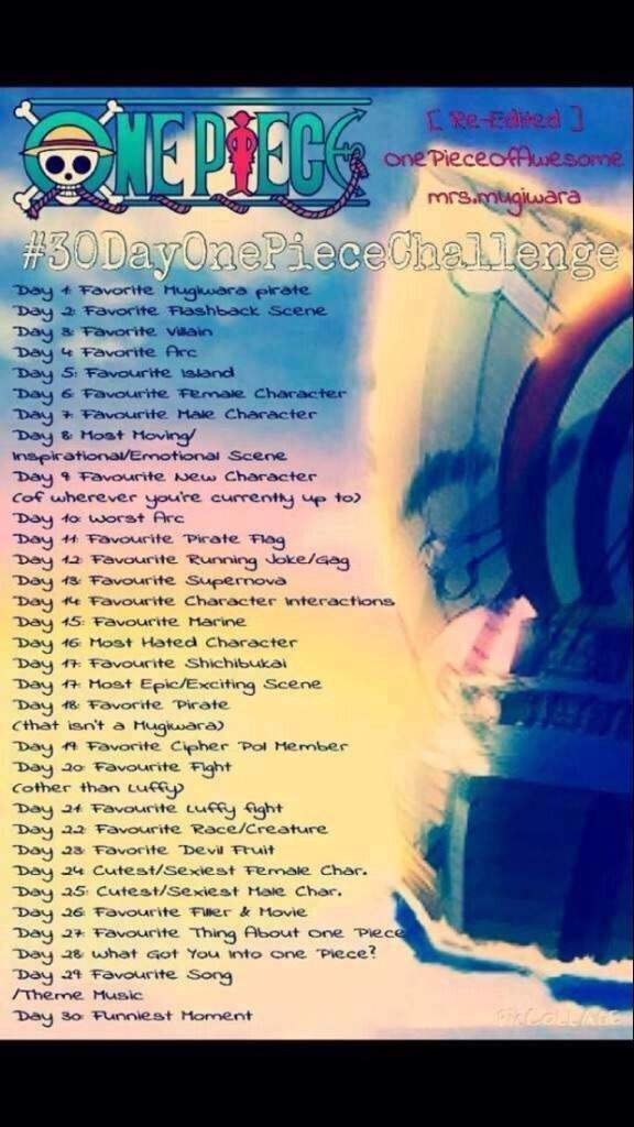 One Piece 30 Day Challenge: Day 19 | Anime Amino