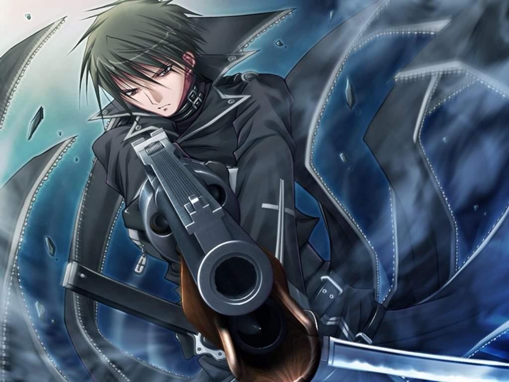 Anime Gun Boy