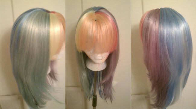 How to Dye Synthetic Wigs/Fursuit Fur | Cosplay Amino