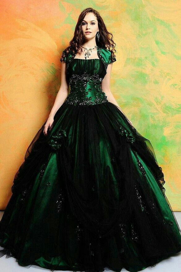 Green Yule Ball Dresses