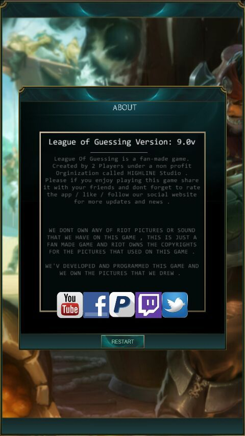 league of guessing online