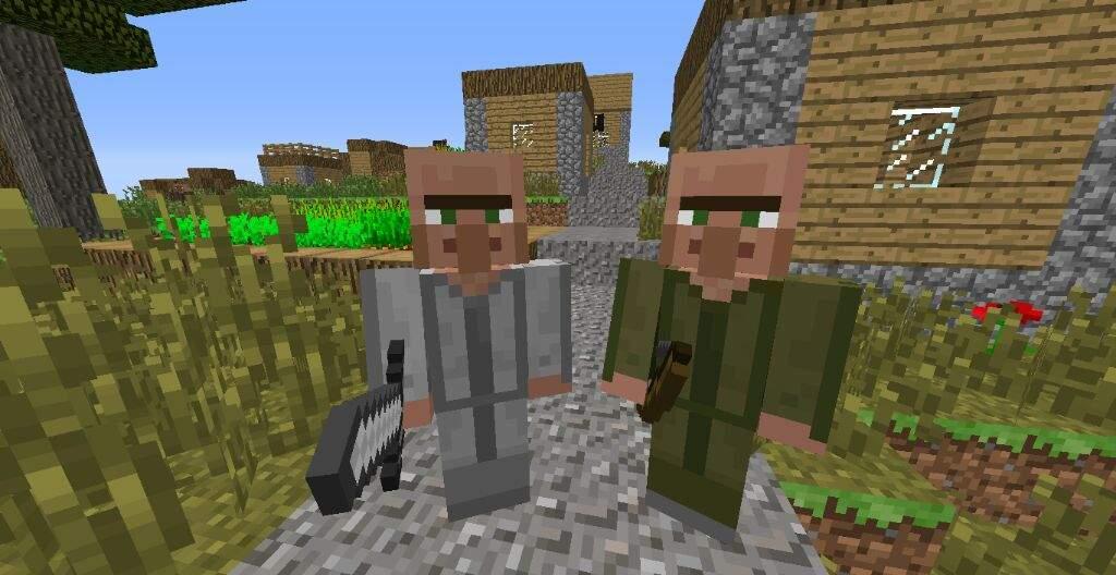 Helpful villagers vs minecraft comes alive which do you like helpful villagers vs minecraft comes alive which do you like better sciox Images