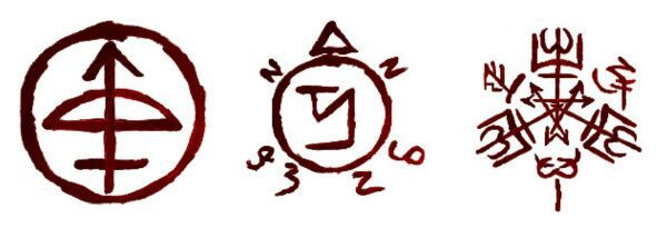 Enochian Sigils | Wiki | Supernatural Amino