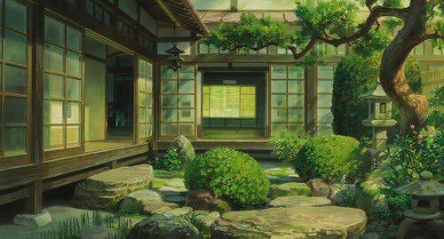 Wednesday blog japanese houses anime amino for Japanese garden room