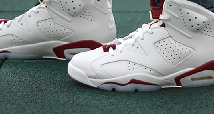 "size 40 45126 4f94a AN ON-FOOT PREVIEW OF THE AIR JORDAN 6 ""MAROON ..."