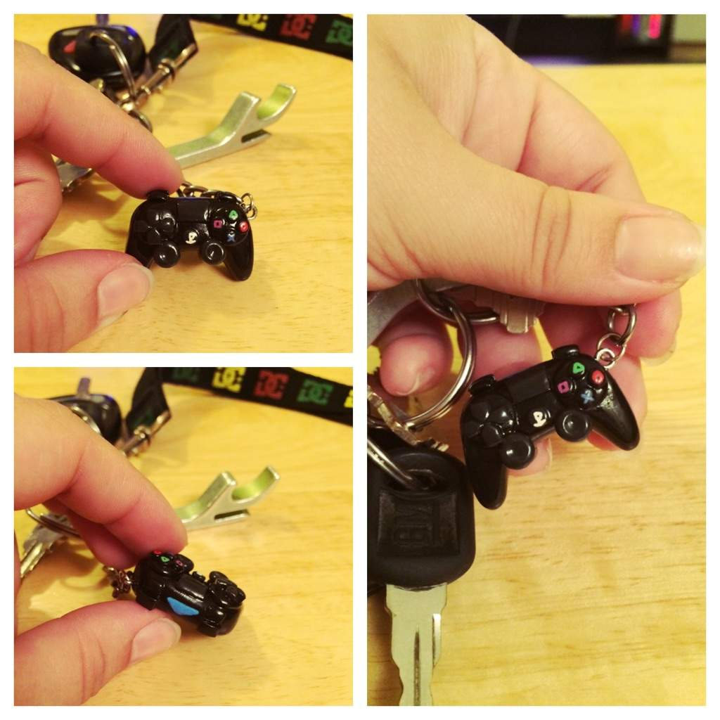 PS4 controller keychain | Crafty Amino