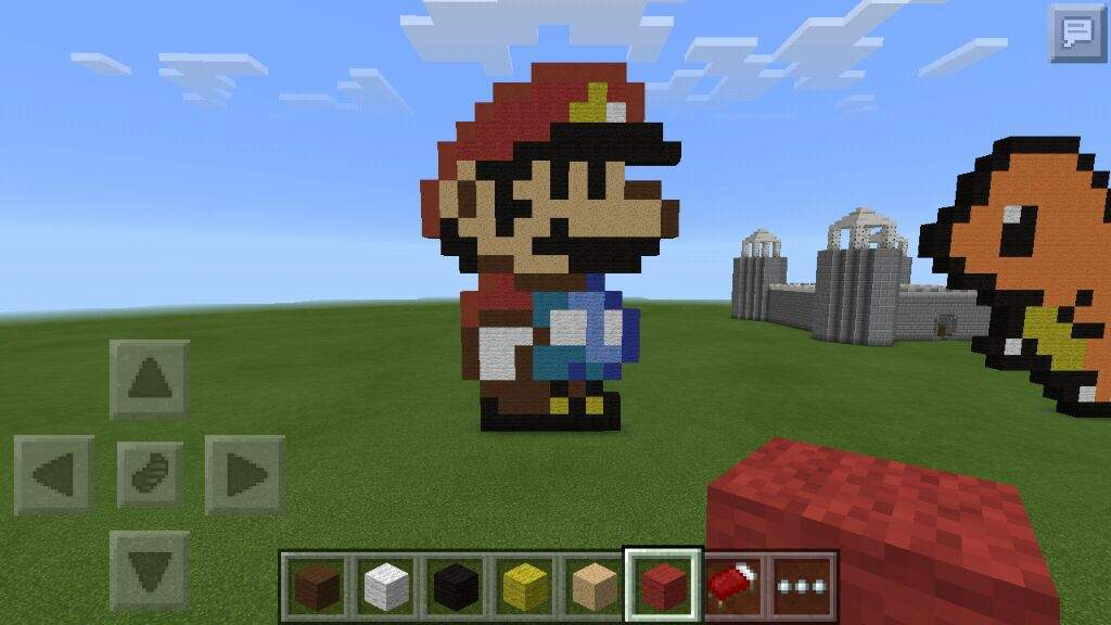 Wonderful (Super Mario World)Small Mario Pixel Art | Minecraft Amino