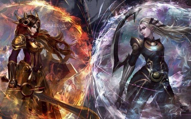 Leona Vs Diana League Of Legends Official Amino