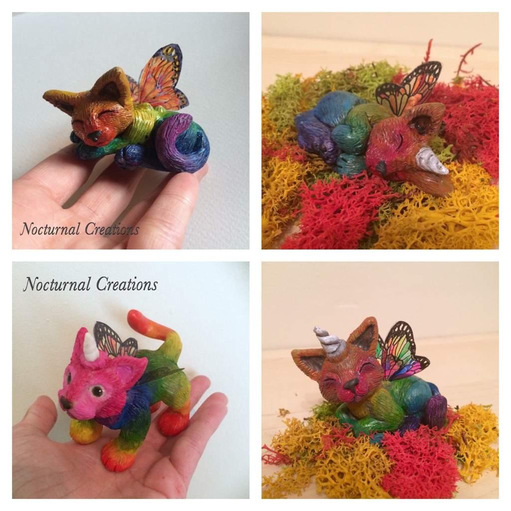 Butterfly Rainbow Unicorn Kittens Crafty Amino