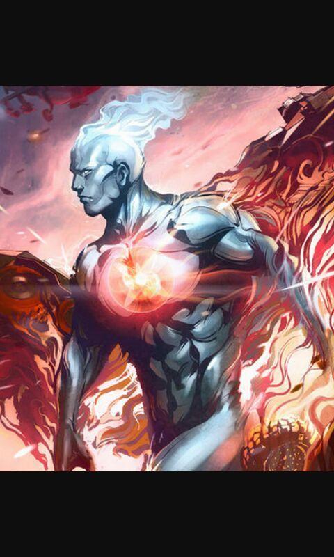 Captain Atom Vs Silver Surfer Comics Amino