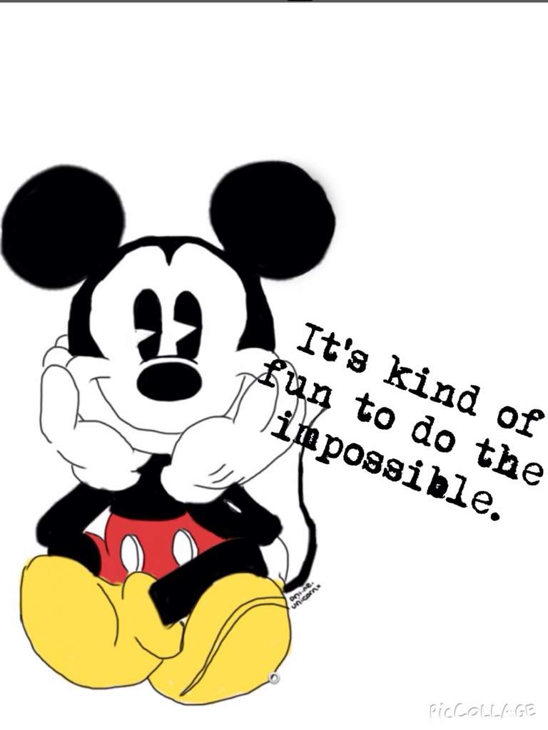 Mickey mouse quote   Crafty Amino