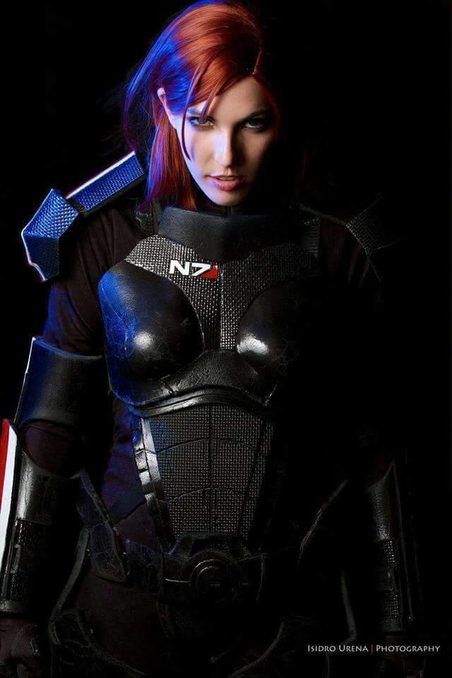 Commander Shepard Mass Effect 3 Cosplay Amino