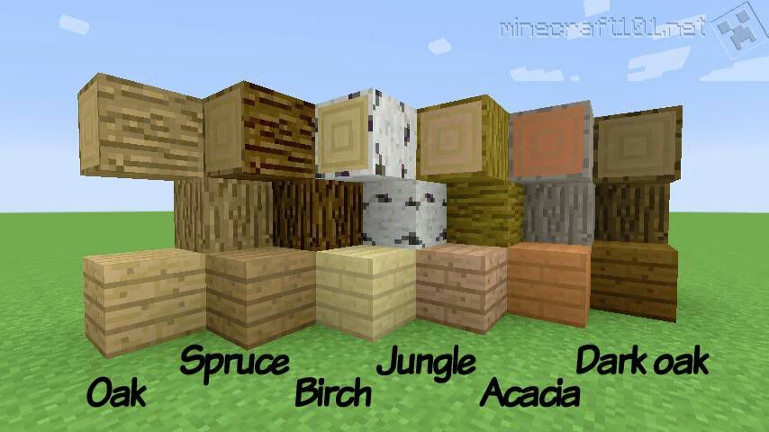 Minecraft Oak Wood ~ Wood😁🌟 minecraft amino