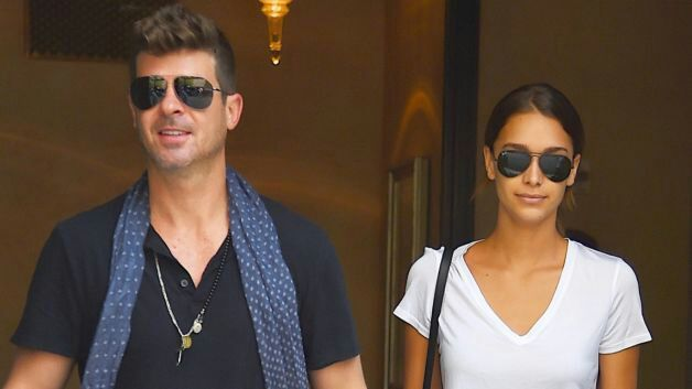 UPDATE You Can Exhale Ladies Robin Thicke Is Still Technically On The Market Crooner Took To Twitter This Morning Clear Up Rumors That He