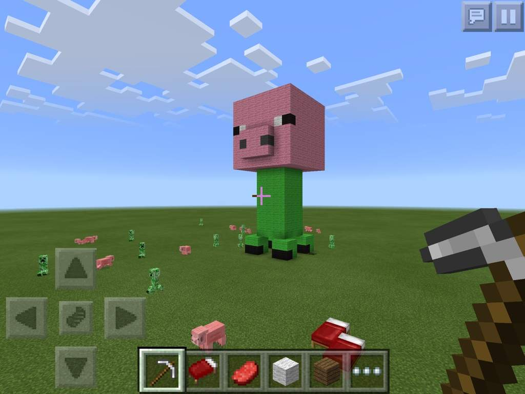 The Best Mob Ever PigCreeperEpicness Minecraft Amino - Best minecraft house ever