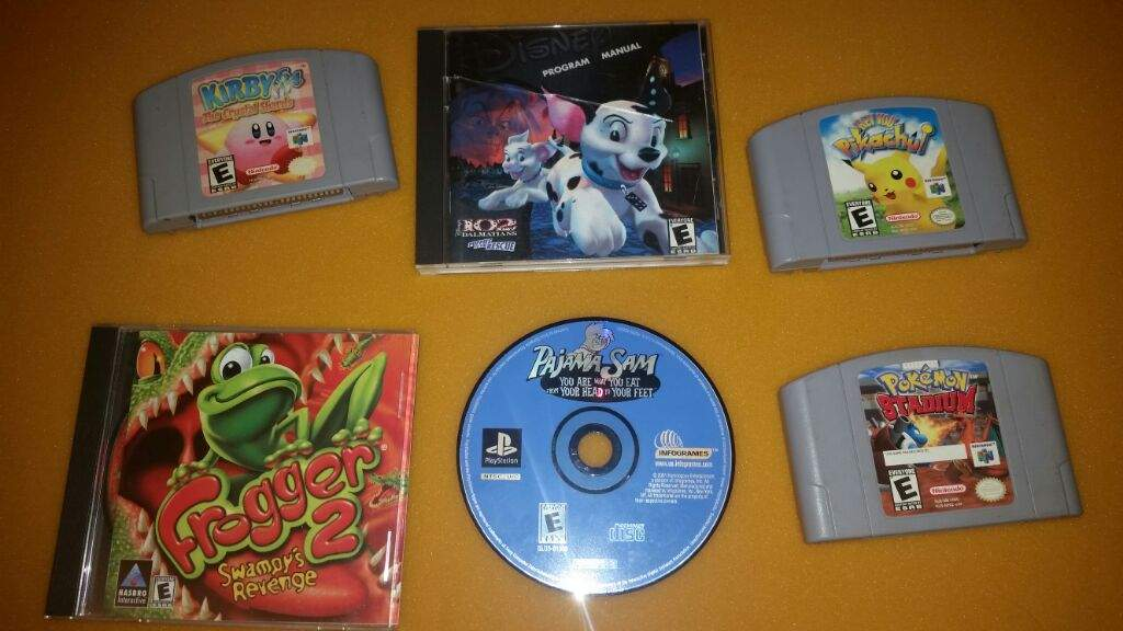 What's your favorite game(s) from your childhood?   Video