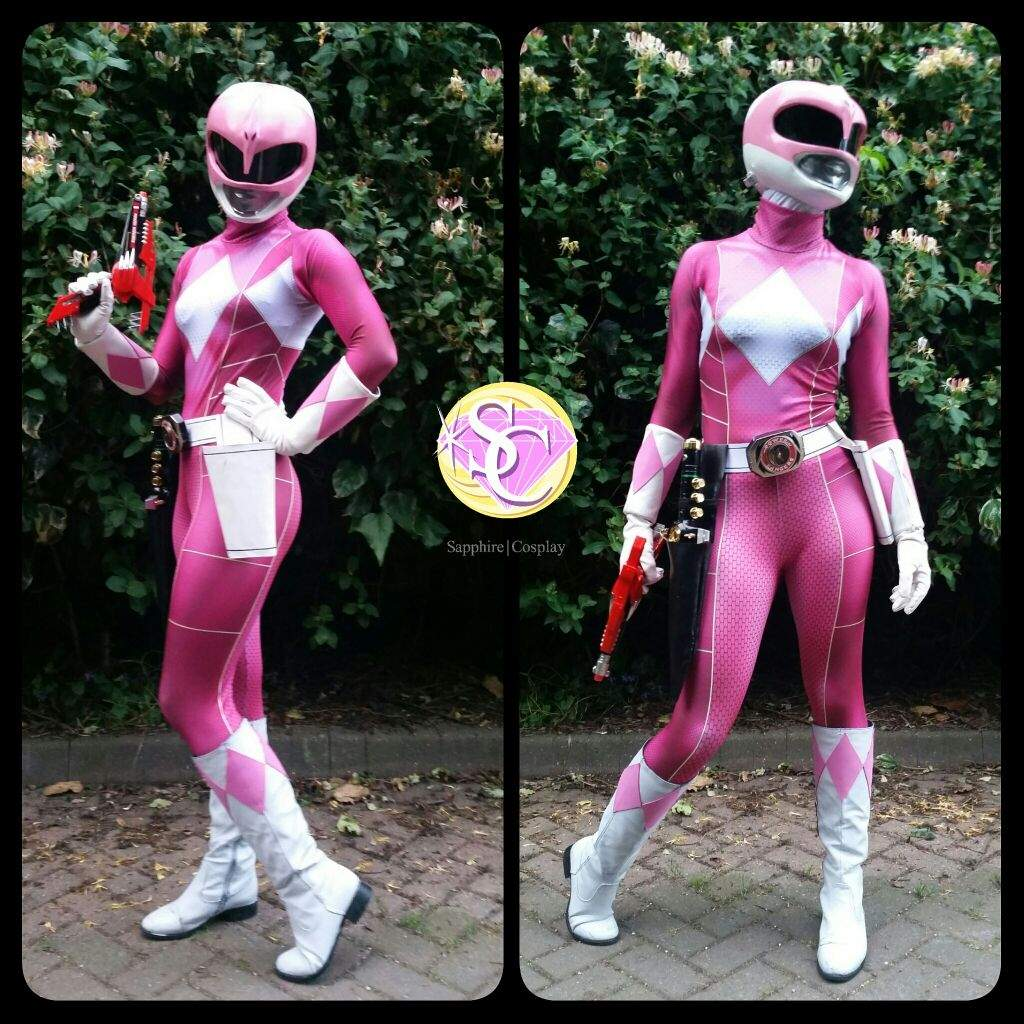 & Sapphire Cosplay Pink Power Ranger | Cosplay Amino