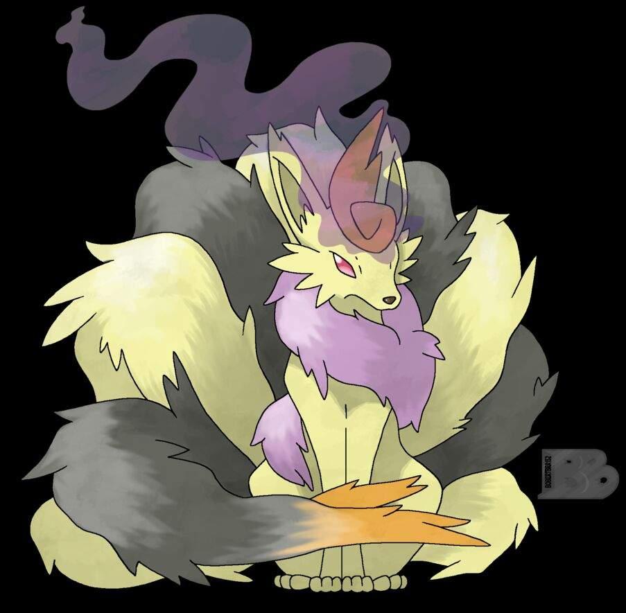 Sardonyx] Mega Ninetales by Keileon -- Fur Affinity [dot] net