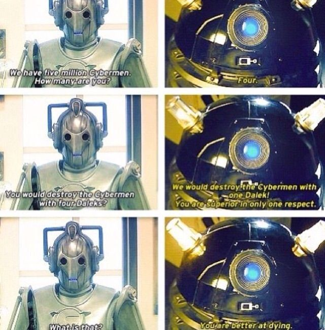 Perhaps my favorite scene from Doctor Who