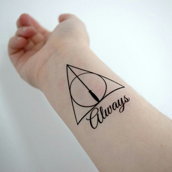 For \'Harry Potter\' Fans, Awesome Temporary Tattoos That You Will ...