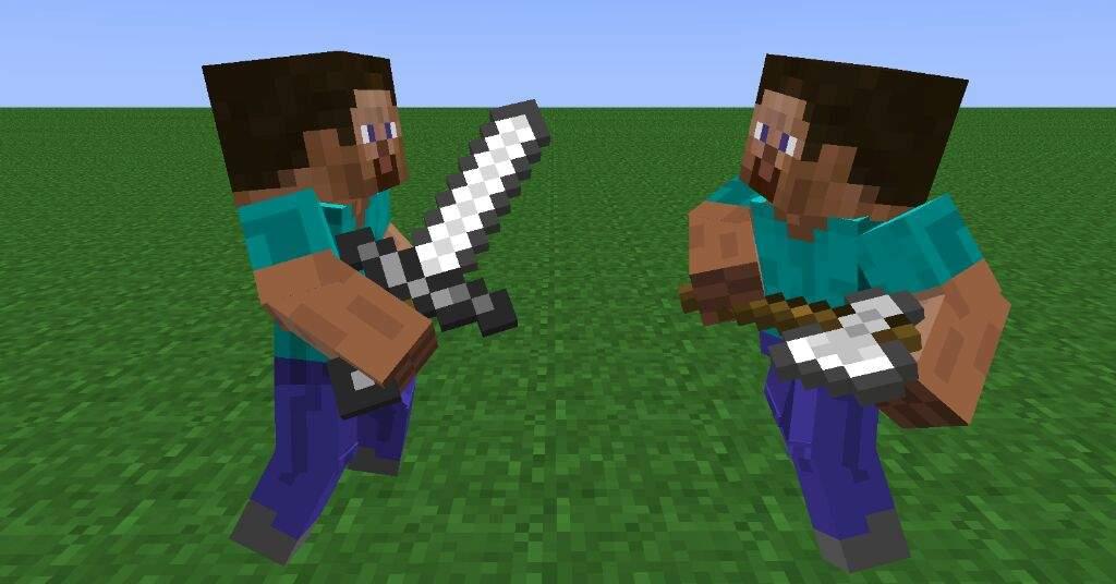 Axe Vs Sword | Minecraft Amino