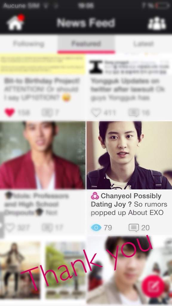 chanyeol dating matchmaking scores