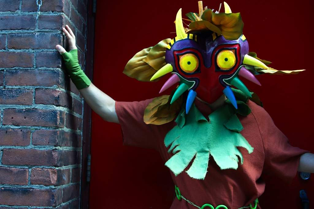 Medli and Skull Kid at Comic Con 2015 | Cosplay Amino
