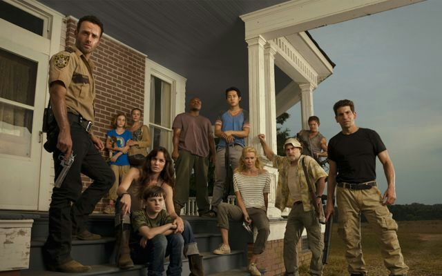 Image result for walking dead season 1 group