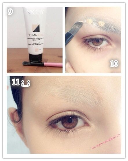 How to cover your eyebrows! | Cosplay Amino