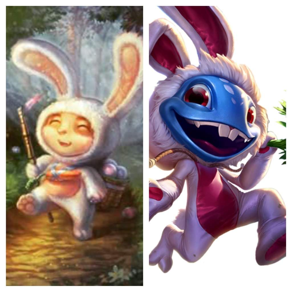 Fizz vs teemo, who are the best cottontail skin? | League Of Legends  Official Amino