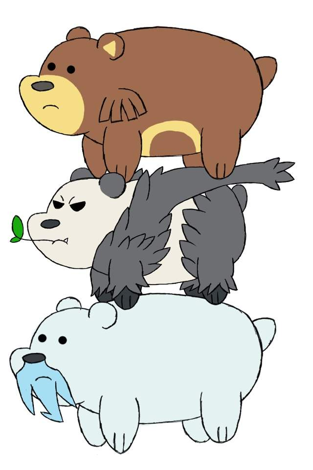 We Bare Bears X Pokémon Pokémon Amino