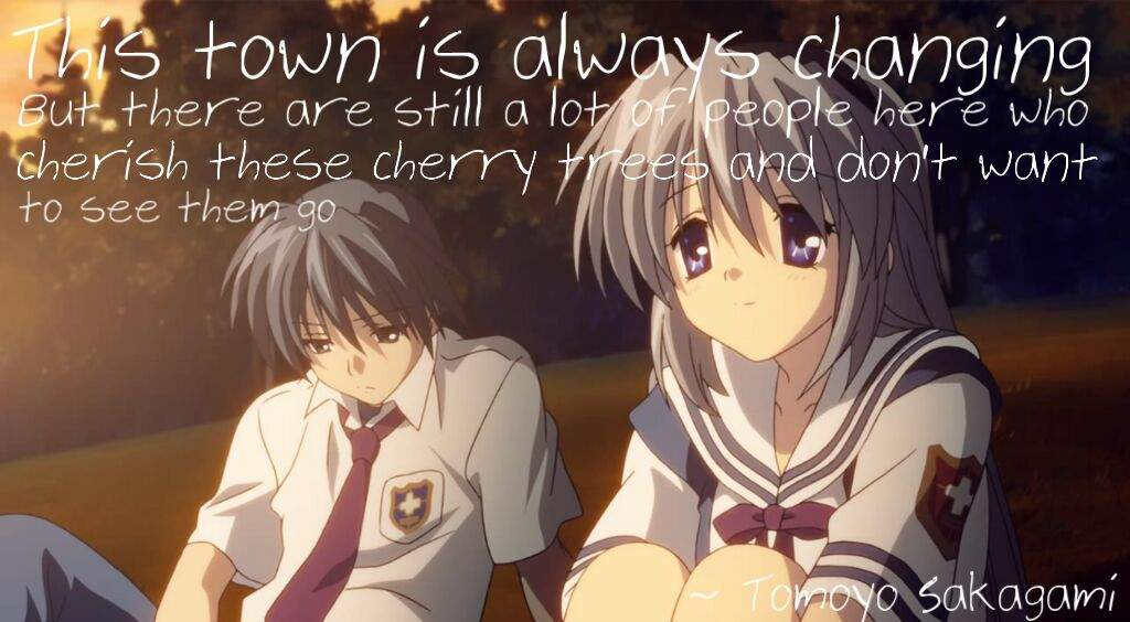Clannad Quotes: Clannad/After Story Quotes