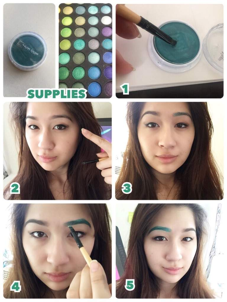 Changing Your Eyebrow Color Tutorial Cosplay Amino