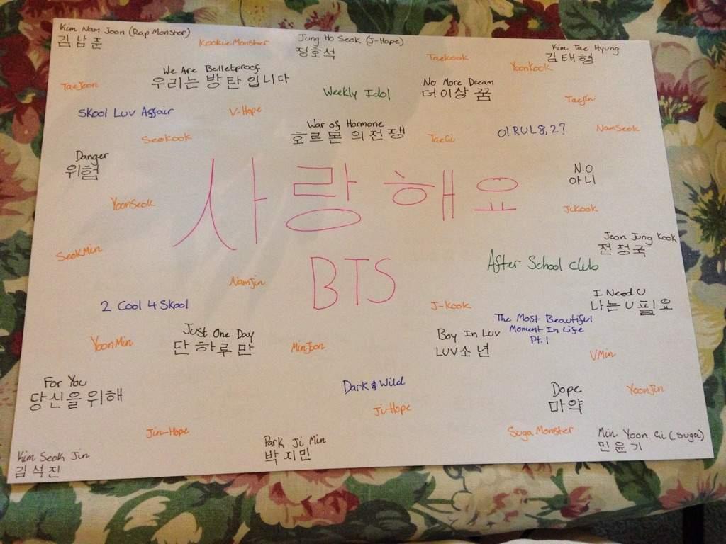 Bts Hangul Members Songs Albums Ships K Pop Amino